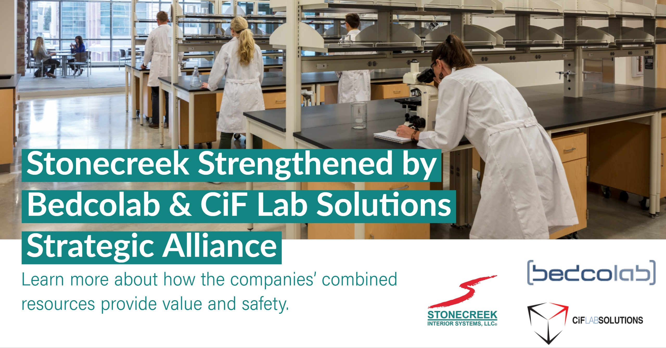 Stonecreek Strengthened by Bedcolab and CiF Lab Solutions Strategic Alliance